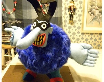 BlueMeanie - Custom - plush