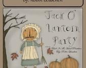 Jack O' Lantern Party Doodle Booklet