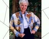 Crazy Quilt Bomber-Style Jacket, uncut, unused. original pattern