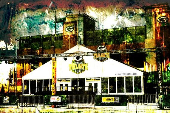 Lambeau Field Tundra Tailgate Zone Green Bay Packers