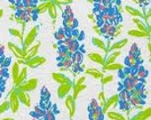 """SALE~~Lilly Pulitzer """"Resort White FRESH CUT"""" 100%  cotton  fabric  17 inch by 18 inch"""