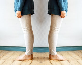 ready to ship / bamboo french terry leggings / by replicca / size S / black