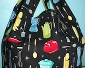 Retro Kitchen Market Bag