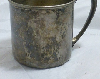 Silver Baby Cup Oneida