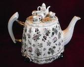 Large Portmeiron Victorian Tea Table Teapot,  Vintage, PM578