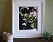 Botanical print - Bittersweet No. 1 - Ready to frame - 8x10 or 16x20