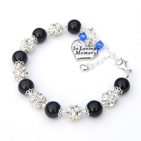 in loving memory jewelry in memory jewelry in loving memory charm bracelet by 2552