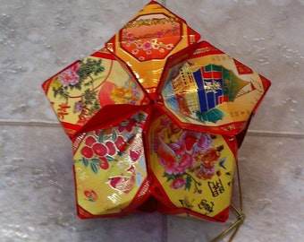 Chinese Lucky Red Envelope Tidings Of Good Fortune 13 - 14 - 15 - 16