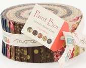 PAINT BOX by Edyta Sitar of Laundry Basket Quilts for Moda Fabric Collection - Jelly Roll - 2.5 inch fabric strips