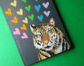 ferocious tiger pocket notebook