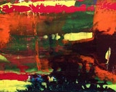 abstract #7 ORIGINAL PAINTING