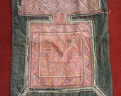 Textiles -  Hmong Baby Carrier/ Hmong / Miao fabric / Hmong embroidery panels - 1012
