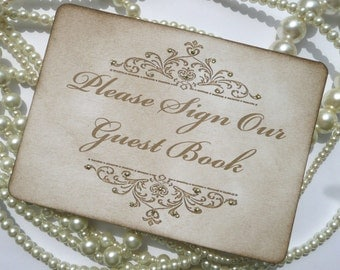 Wedding Guestbook Sign, Wedding Table Numbers, Wedding Sign, Cards Sign, Vintage Wedding Ideas, Wedding Signage, Gold Wedding