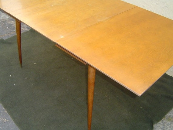 Items Similar To Mid Century Modern Dining Table By Walter Of Wabash On Etsy