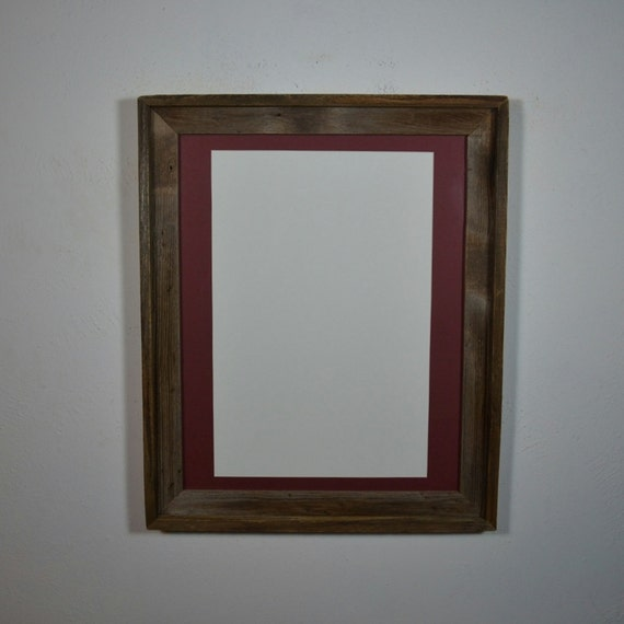 16x20 Wood Frame With 12x18 Mat For Art Posters