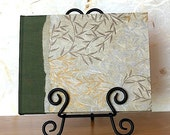 Guest Book Moss Green - Twisted Vines - Perfect for Wedding, Open House, B and B, Memorial, Anniversary