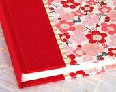 Wedding Photo Album Pink Plum Blossom-Scrapbook Album, Memorial Album, Art Journal, Wedding Guest Book