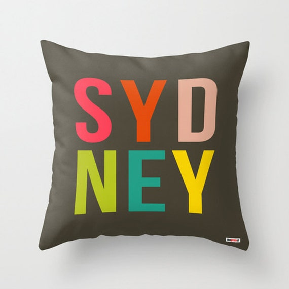 Items Similar To Sydney Decorative Throw Pillow Cover