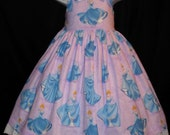 Disney CINDERELLA at the BALL Jumper Dress Custom Size