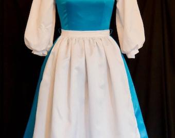 Belle blue dress - Etsy
