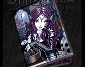 Alchemist Magical Butterfly Fairy ID Card Holder