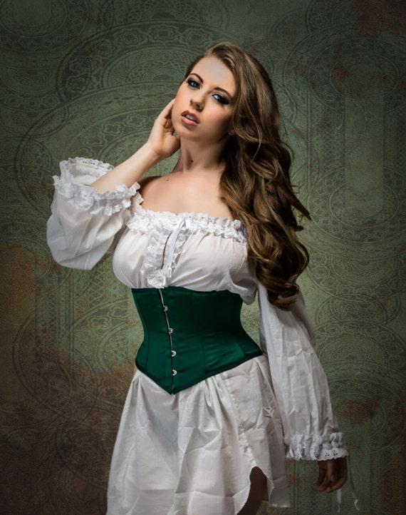 White cotton Nightgown - bohemian Fashion chemise