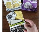 SALE Little Wallet PATTERN purse business card holder