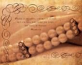 Scripture Wall Art - Inspirational Artwork - Bible Verse - Christian Gift - Religious Art - Godly Woman - TRUE BEAUTY - Proverbs 31 Art