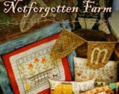 New Book- AUTUMN at Notforgotten Farm - rug hooking, cross stitch, punch needle, wool appliqué and sewing projects