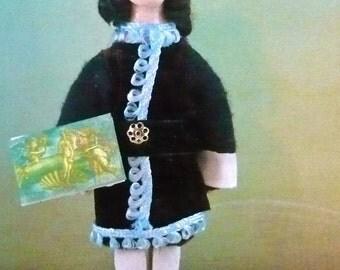 Sandro Botticelli Renaissance Art Doll Miniature