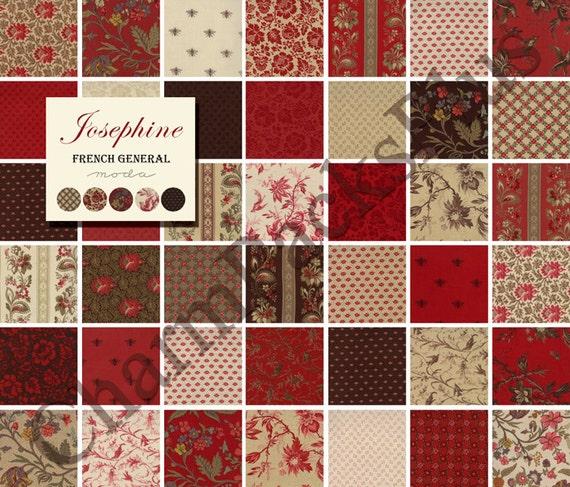 Sale Josephine Moda Fabric Charm Pack Five Inch Quilt