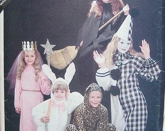 Butterick Childrens Costume Pattern 3372