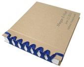 custom grosgrain ribbon photo album - 4x6 (2-up)