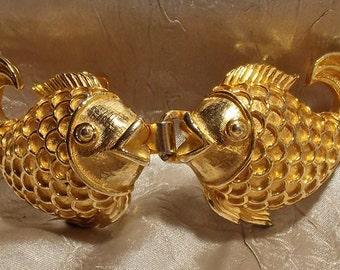 Vintage Gold Belt Buckle Mimi di N