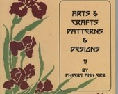 2004 The International Design Library Arts & Crafts patterns and designs by Phoebe Ann Erb 42 pages