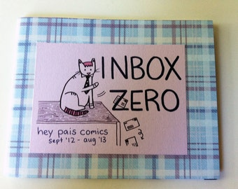 Inbox Zero - A Hey Pais Minicomic, September 2013