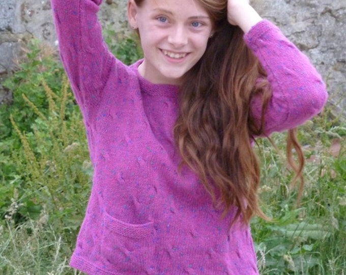 pdf pattern for the Seadrift Sweater by Elizabeth Lovick
