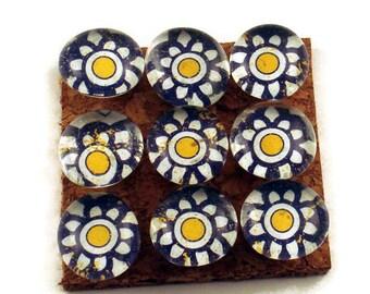 Decorative  Push Pins Cork Board Pins  Thumb Tacks Bulletin Board Pins  in Fiesta  (P88)