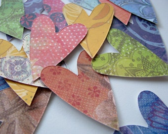 Vita - Modern Heart Stickers, Planners, Snail Mail, Stationary