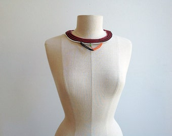 Vintage Beaded African Collar.