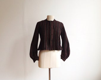 1800s Loomed Wool Jacket.