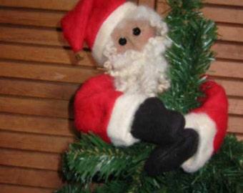 Santa Tree Topper E-Pattern, Downloadable Digital Pattern