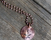 FAST* UU Chalice Copper Medallion Necklace