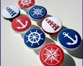 Nautical Knobs • Anchor • Lighthouse • Helm • Nautical Compass • Drawer Knobs • Dresser Pulls