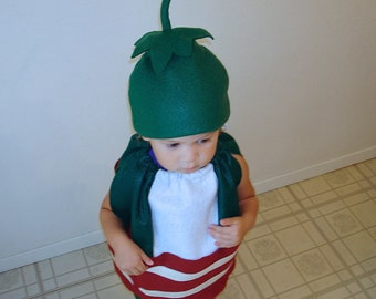 Kids Jalapeno Popper Costume Kids Halloween Costume Bacon Wrapped Photography Prop Dress Up