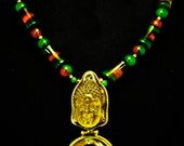 Nepali Double Jelly Buddha Necklace