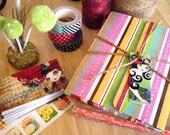 Postcard Set of 20 - Sandra Vargas Artwork - Postcrossing Postcard Gift Set Collection