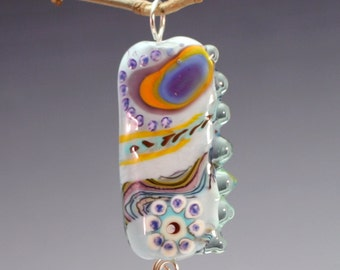 Land Of Dreams - Handmade Lampwork Glass Bead Pendant
