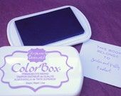 GRAPE/LIGHT PURPLE Color Box by Stephanie Barnard Dye Ink Pad