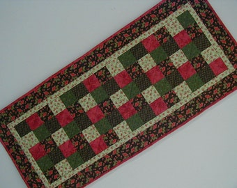 Quilted Tablerunner - Five Patch (EDTRB)